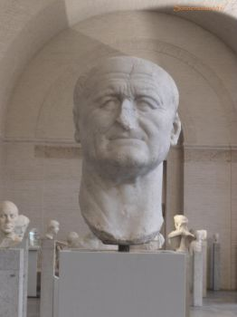 Glyptothek munich 10: Bust of Emporor Vespasian by Sonnenkatze346