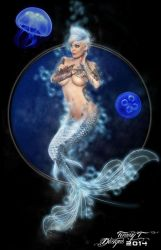 Electric Mermaid by Tommy-T-Designs