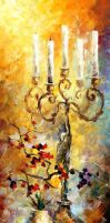 Candles by Leonid Afremov