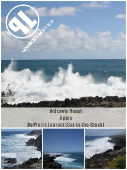 Volcanic Coast - Unrestricted by Cat-in-the-Stock