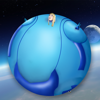 Zero Suit Samus Balloon by berry-duke96