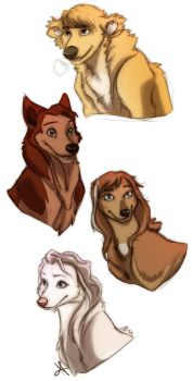 Cold Canines by Pugletz