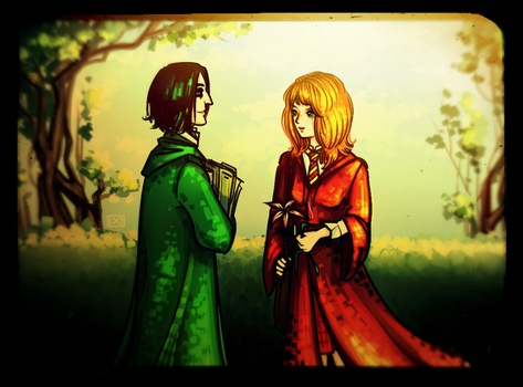 HP: Severus Snape|Lily Evans by maryallen138