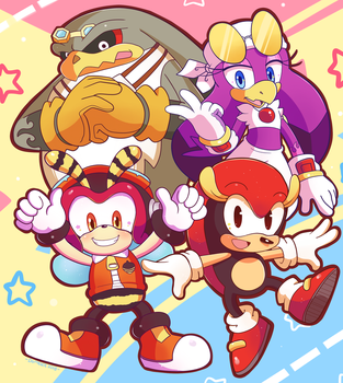 Contest Entry Team Awesome by Domestic-hedgehog