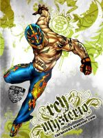 Rey Mysterio by ataud