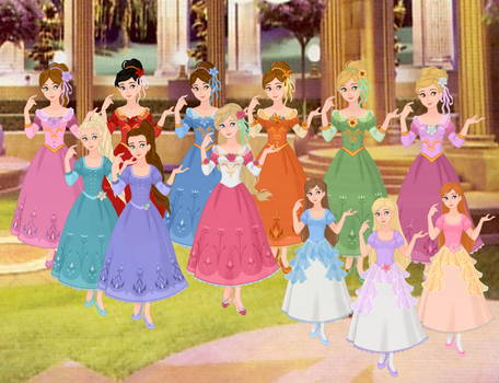 Barbie The 12 Dancing Princesses by musicmermaid
