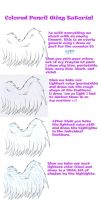 Colored Pencil Wing Tutorial by Ferret-X
