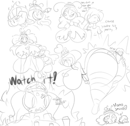 Mama Novanna Doodles by Puffylover1