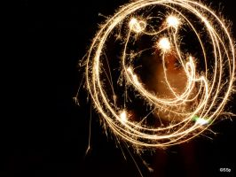 smiley light painting by Lionpelt-66