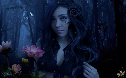 Delicate Darkness (Rosie May) by LittleBee8705