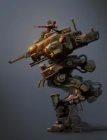 PLA Multifunction Mech Type 28 by lhlclllx97
