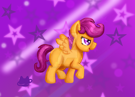 Scootaloo by cosmocatcrafts