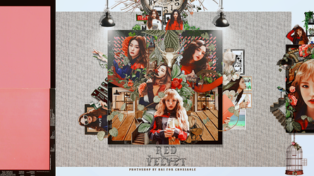 Red Velvet [For ChoXiaoLe] by Siguo
