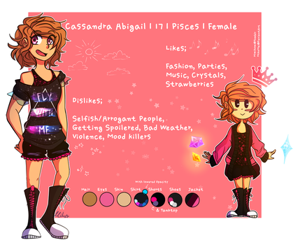 Cassy Reference by MikoMei