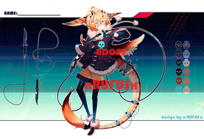 TECHNO DRAGON ADOPT 13 - AUCTION [Closed] by x-RUFUS-x