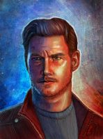 Star-Lord, man by Huntersky
