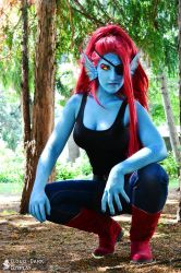 Undyne - Undertale Cosplay by cloud-dark1470