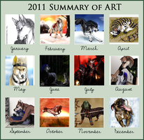 2011 Summary Of Art by casualGEE