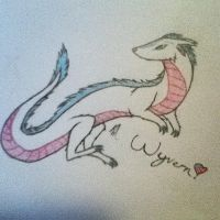 Wyvern from the game Terraria by starlo1o1