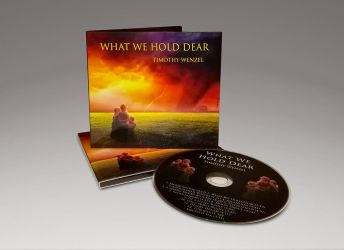 What We Hold Dear - Album cover art by neverdying