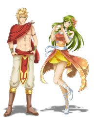 Character redesigns - Kai and Elda by Dakiarts