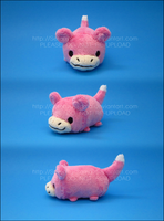 Stacking Plush: Mini Slowpoke