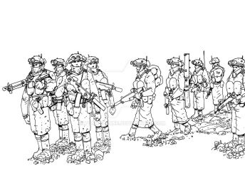Additional troops by TonyBourne