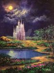 Of Glass Castles And Moonlight by Rbpainter