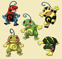 PokemonSubspecies: Politoed by CoolPikachu29