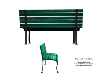 3d benches to sit on great png by madetobeunique