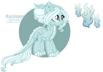 [AT] Ghost DragonPone for Catnip1996 by Kazziepones