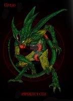 Imperfect Cell - beast mode by thunderalchemist18