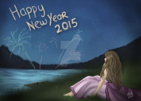 Happy New Year 2015 by anastasia2123