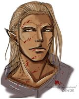 Zevran by Frostnight