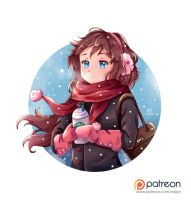 Winter coffee by NaiLyn
