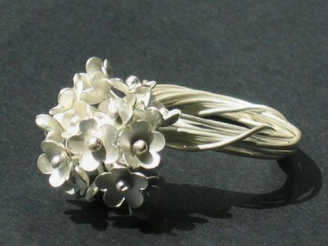 Bloom Ring by silver-zaira