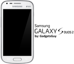 Samsung Galaxy S Duos 2 by GadgetsGuy