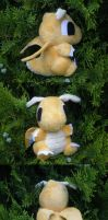 Dragonite Pokedoll by Glacideas