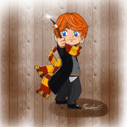 Red hair, you must be a Weasley! by FrancesRey