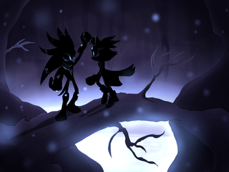 Among the Shadows by Ora-Allagis