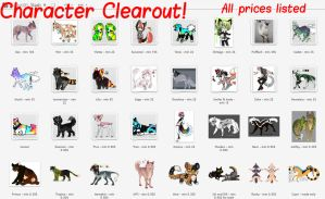 Character Clearout {prices dropped} by GasW0lf