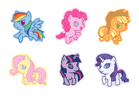 qt My Little Pony FiM by Hazuza