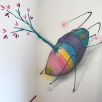 insect by feik-graffiti