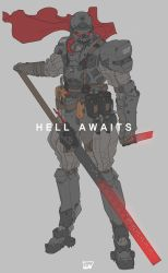 Hell Awaits. by obokhan
