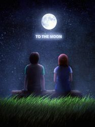 To The Moon by Roxas-the13