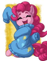 Pinkie In Over-sized Sweater by LateCustomer
