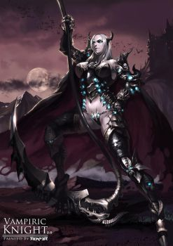 The Female Vampiric Knight 2.0 by reaper78