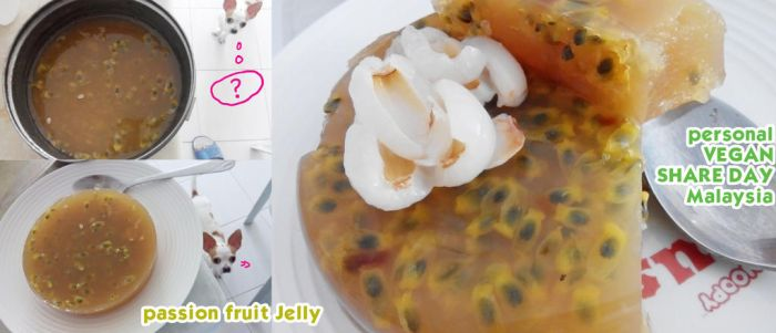 Vegan passion fruit JELLY by Doll1988