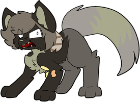 Angery Doggo by MollyCollie