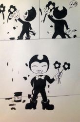 Flowers - Bendy and the Ink Machine by Eve-aCatty
